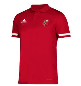 Adidas Sports Licensed POLO, ADIDAS, DUNKING BIRD, RED, UL