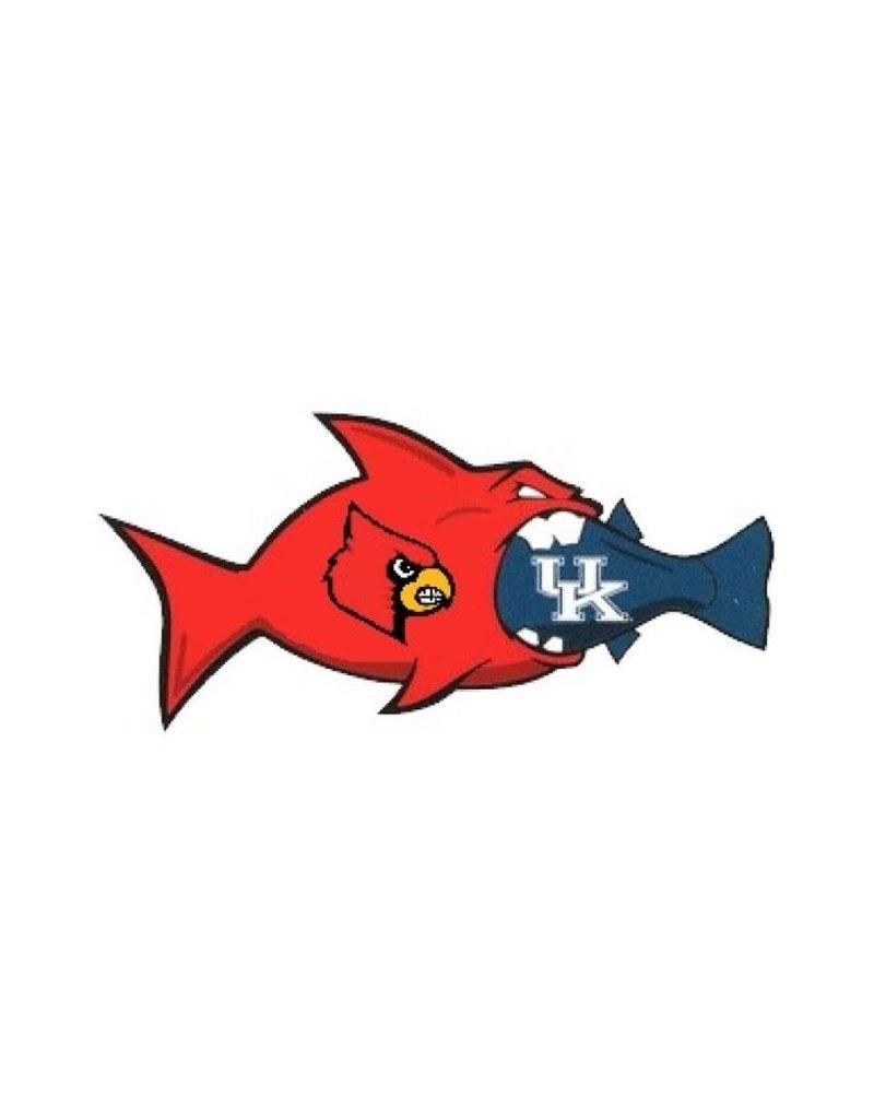 SDS Designs CAR MAGNET, RIVAL FISH, 12 INCH, UL