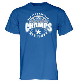 BLUE 84 TEE, SS, SEC REG. SEASON CHAMPS, UK-C
