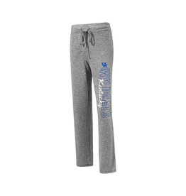 Concept Sports PANT, LADIES, KNIT, MARBLED, GRAY, UK
