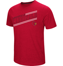 Colosseum Athletics TEE, SS, FLY BALL, RED, UL-C