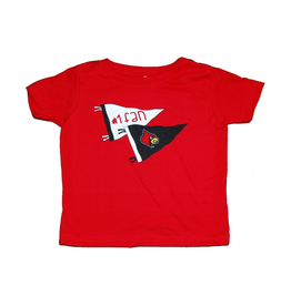 Little King TEE, INFANT/TODDLER, SS, #1 FAN, RED, UL