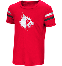 Colosseum Athletics TEE, TODDLER, SS, GIRLS, YEAH YEAH, RED, UL