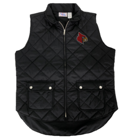 VEST, LADIES, SNAP POCKET, BLACK, UL