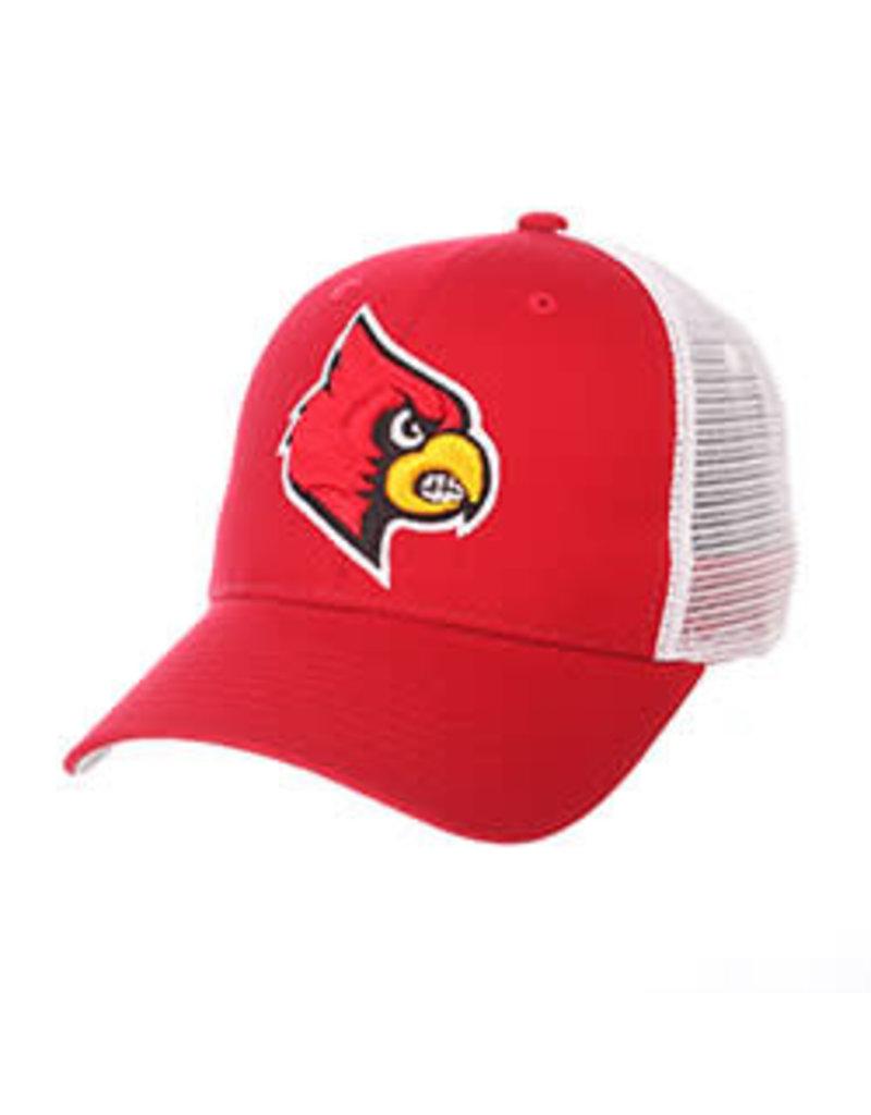 Zephyr Graf-X HAT, ADJUSTABLE, BIG RIG, RED/WHT, UL