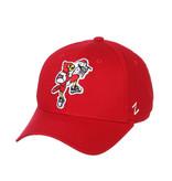 Zephyr Graf-X HAT, ADJUSTABLE, DUNKING BIRD, RED, UL