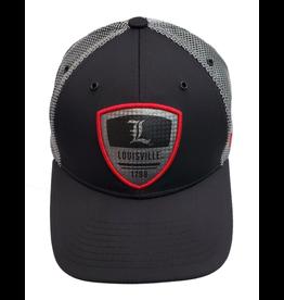 Zephyr Graf-X HAT, ADJUSTABLE, SHIELD, BLK/GRY, UL