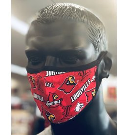 FACE MASK, SYKEL, RED/BLACK, UL