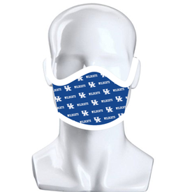 Jaymac Sports Products FACE MASK, REPEAT LOGO, ROYAL, UK