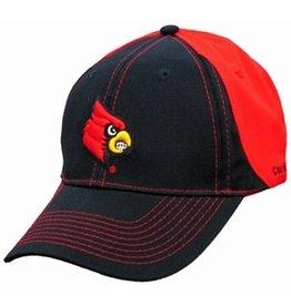 HAT, ADJUSTABLE, BLIND, RED, UL