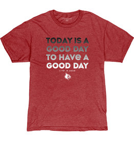 BLUE 84 TEE, SS, GOOD DAY, RED, UL-C