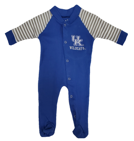 Little King SLEEPER, INFANT, LS, FOOTED, STRIPED, UK