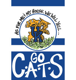 FLAG, GARDEN, GO CATS, UK