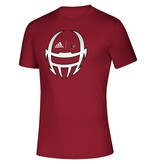 Adidas Sports Licensed TEE, ADIDAS, SS, LOCKER HELMET 20, RED, UL
