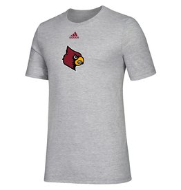Adidas Sports Licensed TEE, SS, ADIDAS, LOCKER SIDE BY SIDE, GRAY, UL