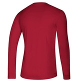 Adidas Sports Licensed TEE, LS, ADIDAS, ON COURT, RED, UL