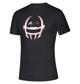 Adidas Sports Licensed TEE, ADIDAS, SS, LOCKER HELMET 20, BLACK, UL