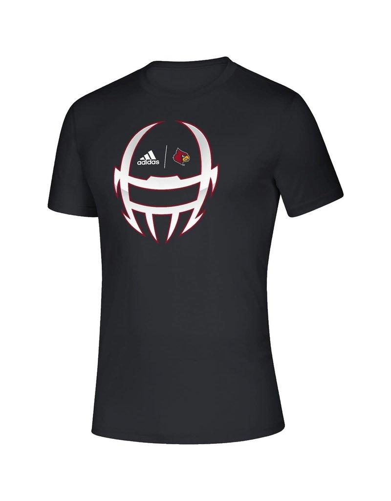 Adidas Sports Licensed TEE, ADIDAS, SS, LOCKER HELMET 20, BLACK, UL