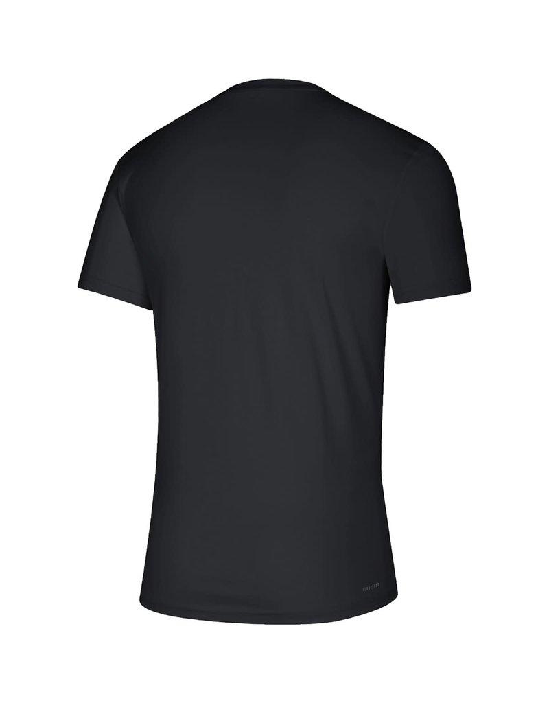 Adidas Sports Licensed TEE, ADIDAS, SS, LOCKER FOOTBALL, BLACK, UL