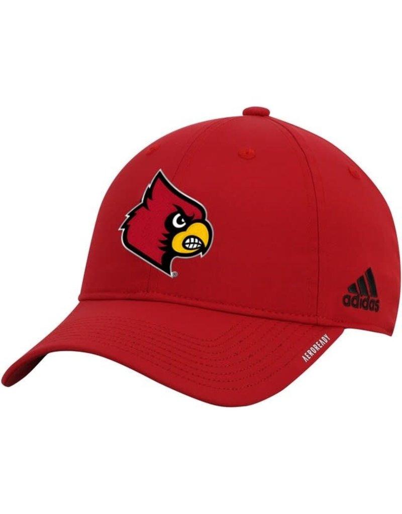 Adidas Sports Licensed HAT, ADIDAS, ADJ, COACH SLOUCH 21, RED, UL