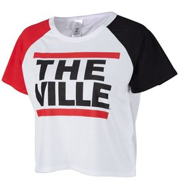 TEE, LADIES, CROP, THE VILLE, 3-COL, UL
