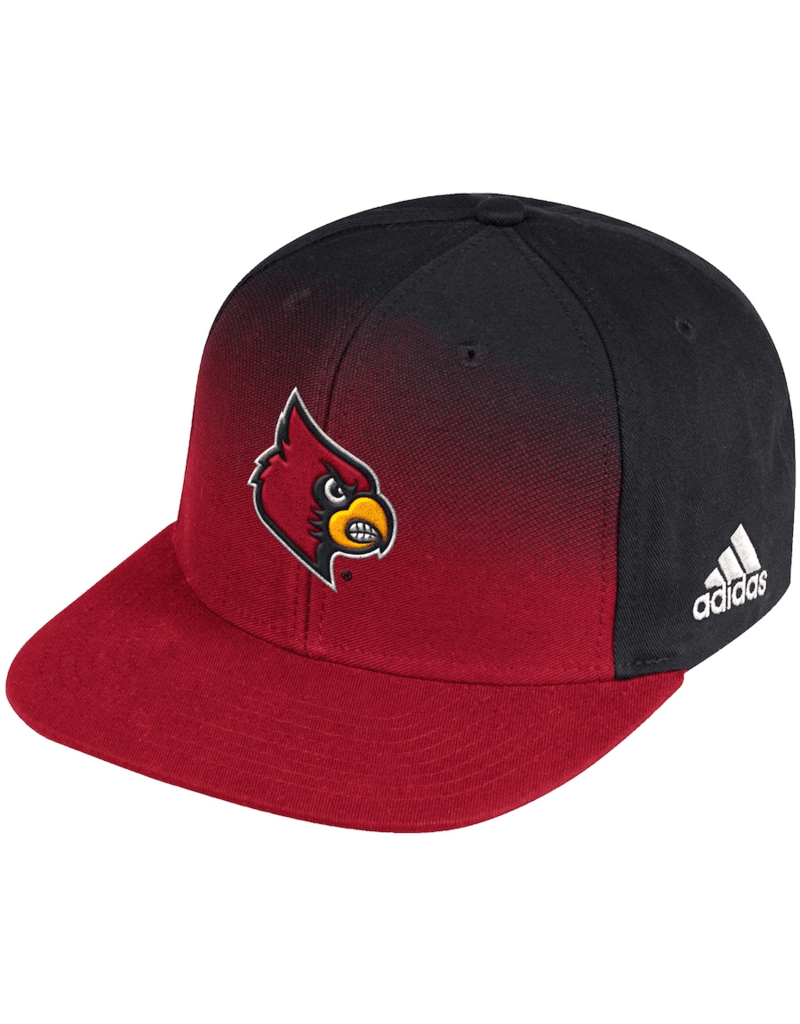 Adidas Sports Licensed HAT, ADIDAS, ADJ, COLOR FADE SNAP, RED, UL