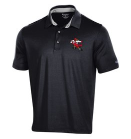 Champion Products POLO, MENS, FOOTBALL, BLK, UL