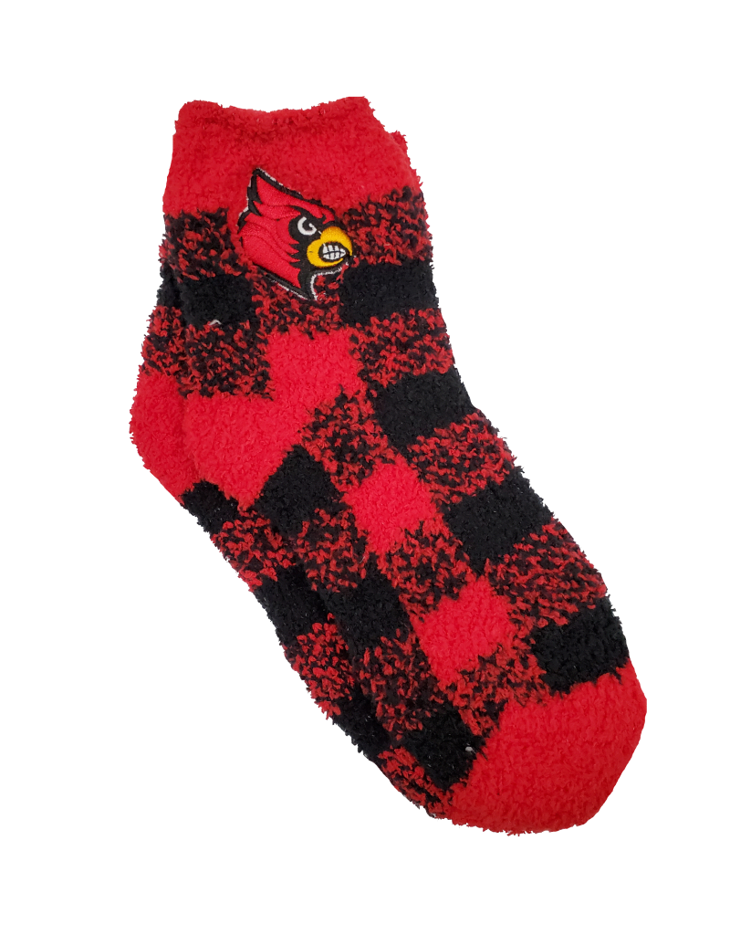 SOCK, LADIES, BUFFALO PLAID, UL