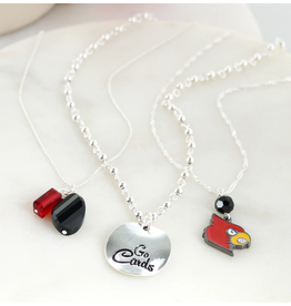 Seasons Jewelry NECKLACE-D, TRIO, SILVER DISK, UL