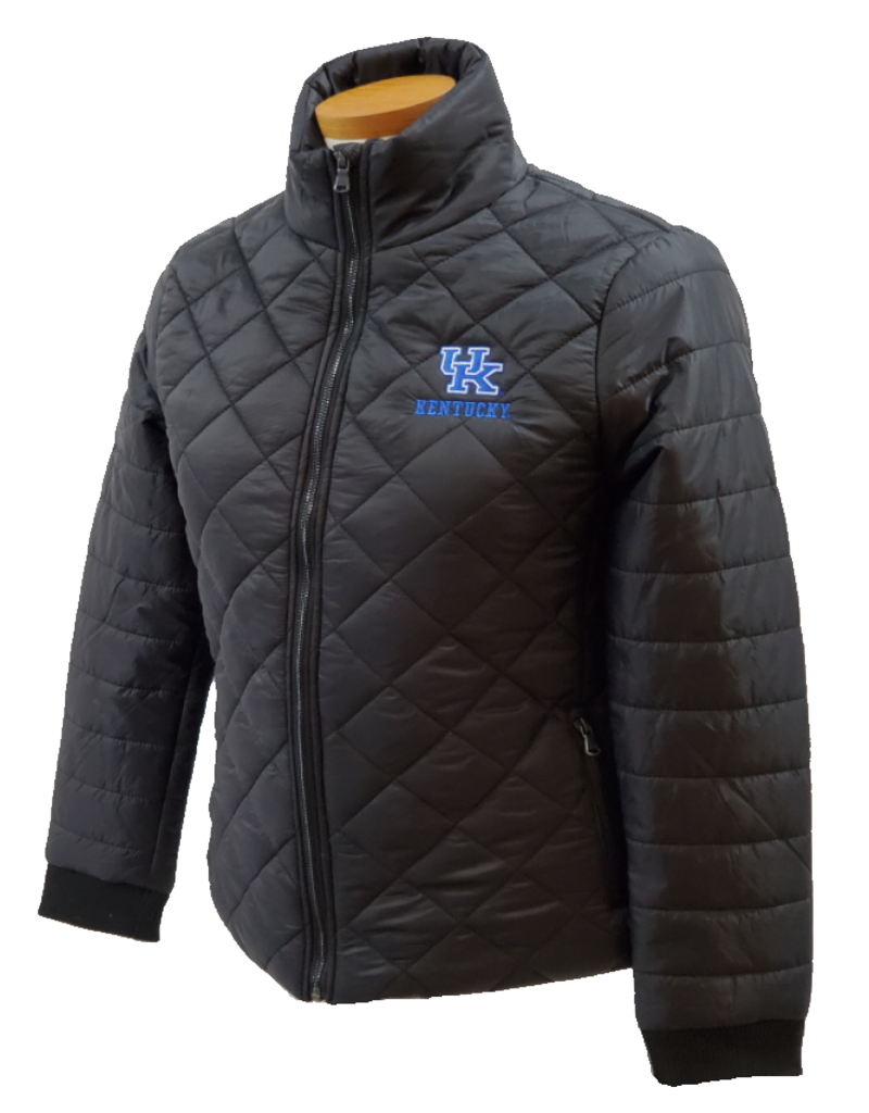 Top of the World JACKET, LADIES, PUFFER, BLK, UK