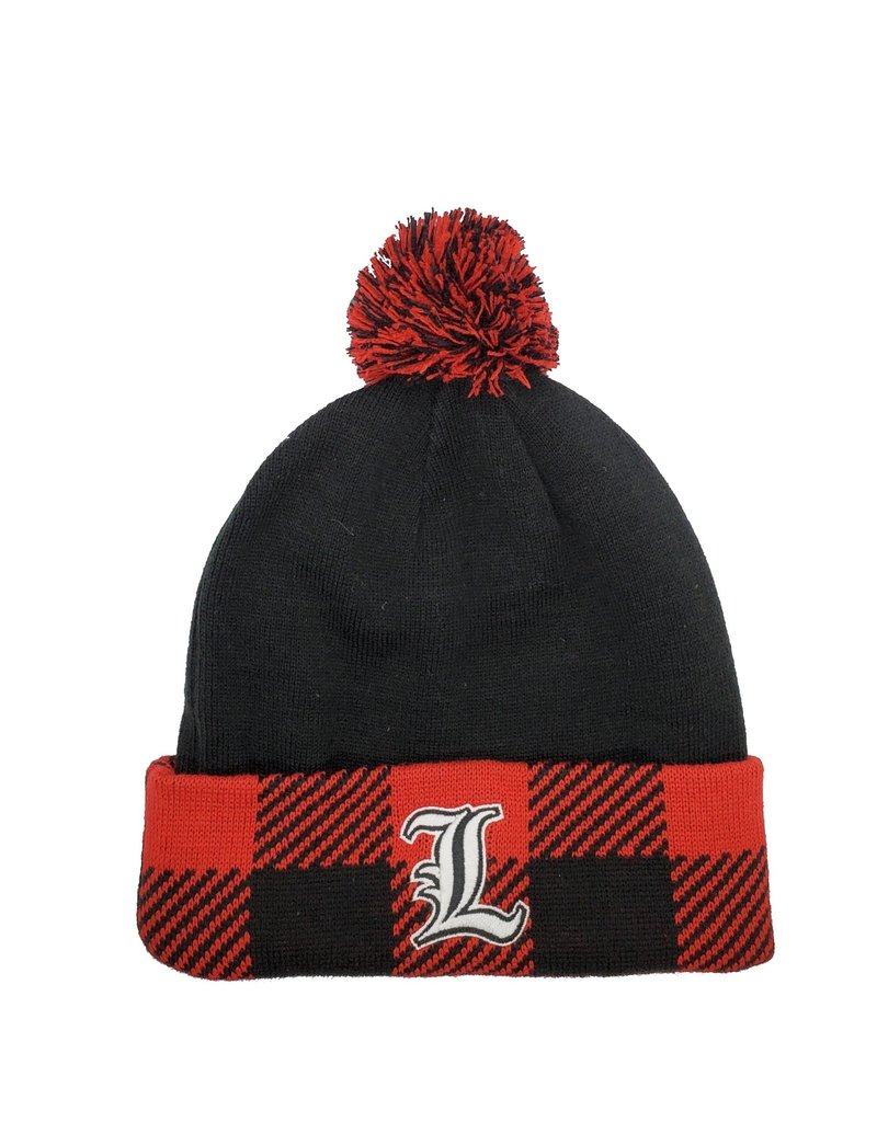 Top of the World KNIT, BUNYAN, BLK/RED,UL