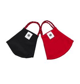 POMCHIES FACE MASK, POMCHIES 2 PACK, RED/BLK, UL