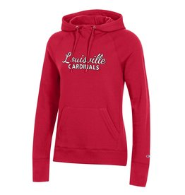 Champion Products HOODY, LADIES, UNIVERSITY 20, RED, UL
