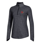 Champion Products PULLOVER, LADIES, 1/4 ZIP, FIELD DAY, BLK, UL