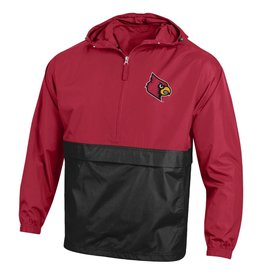 Champion Products JACKET, PACKABLE, COLOR BLOCK, RED, UL