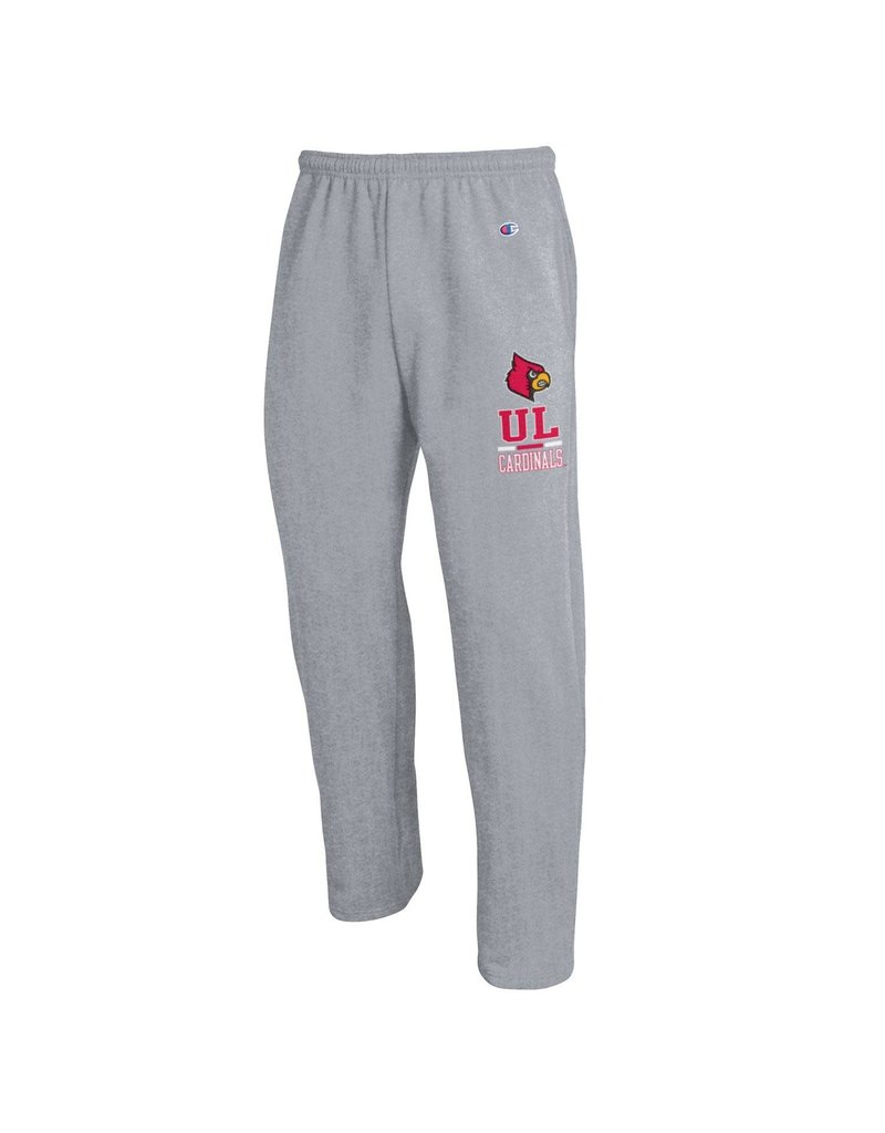 Champion Products PANT, POWERBLEND, OPEN BOTTOM, GRAY, UL