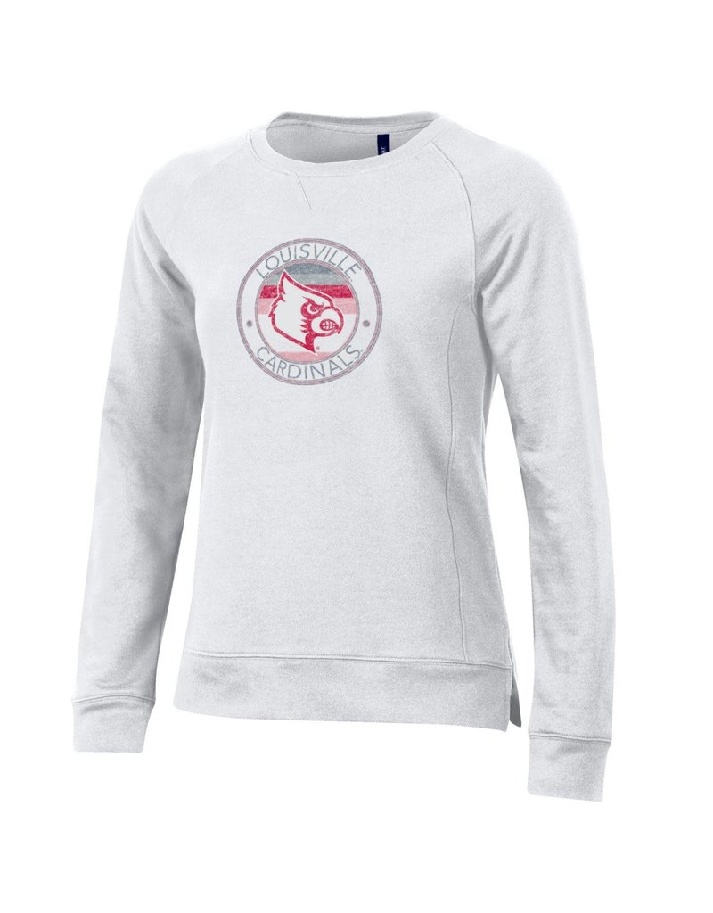 Gear for Sports CREW, LADIES, COLORBLOCK, WHITE, UL-C