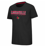 Colosseum Athletics TEE, YOUTH, SS, LARRY, BLACK, UL
