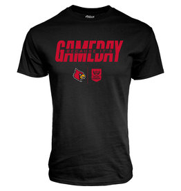 BLUE 84 TEE, SS, COLLEGE GAME DAY, BLACK, UL