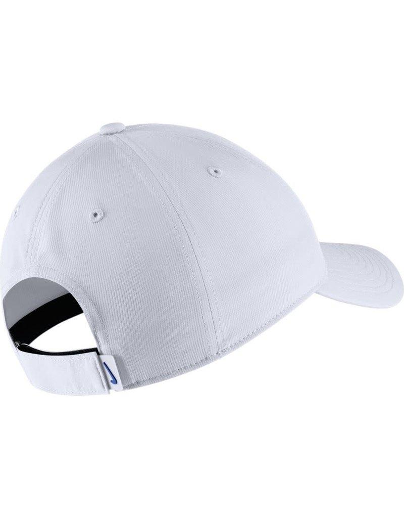 Nike Team Sports HAT, NIKE,ADJ, COLLEGE, LEGACY 91, WHITE, UK