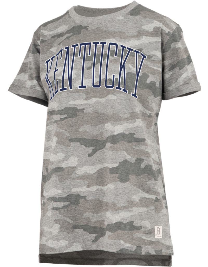 Pressbox TEE, LADIES, SS, AUSTIN, CAMO, UK
