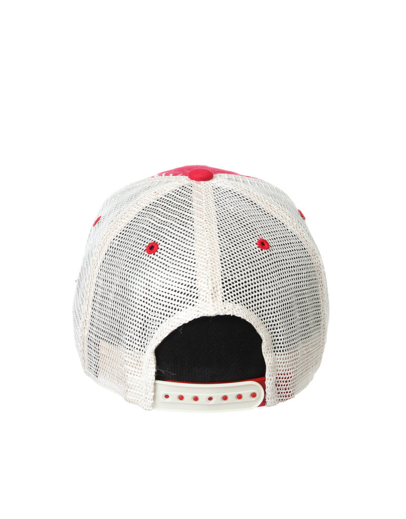 Zephyr Graf-X HAT, ADJUSTABLE, KNOXVILLE, RED/WHITE, UL