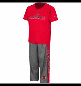 Colosseum Athletics SET, TODDLER BOYS, BOB, RED/ CHAR, UL
