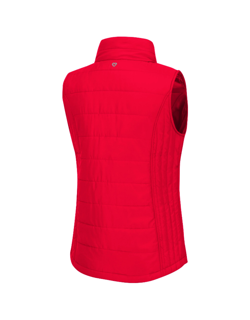 Colosseum Athletics VEST, LADIES, STRING THEORY, RED, UL