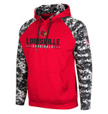 Colosseum Athletics HOODY, OHT,  FITTY, RED/CAMO, UL