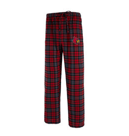 Concept Sports PANT, FLANNEL, PARKWAY, RED/BLK, UL
