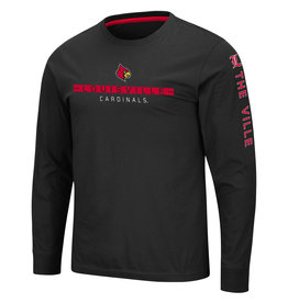 Colosseum Athletics TEE, LS, BLITZGIVING, BLACK, UL