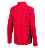 Colosseum Athletics PULLOVER, YOUTH, 1/4 ZIP, DRAFT, RED, UL