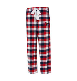 Concept Sports PANT, LADIES, FLANNEL, BREAKOUT, RED/BLK, UL