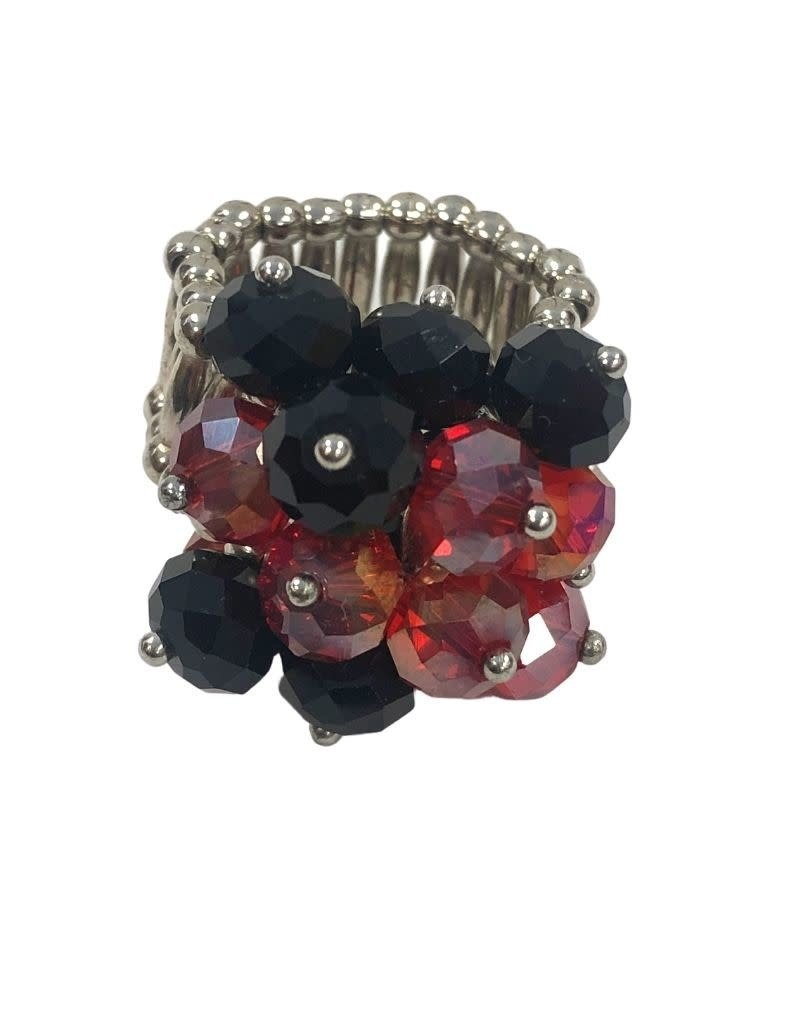 RING, STRETCH, BEADED, UL